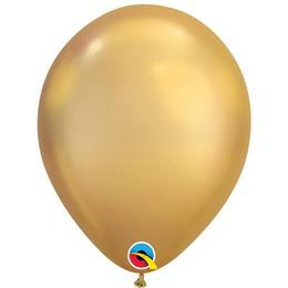 Chrome - arany (gold) 28 cm-es (latex) lufi, 100 db